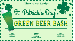 Send Patrick's Day Invitations!