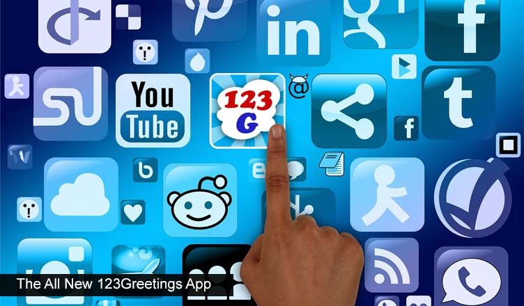 Super Smartphone App From 123Greetings