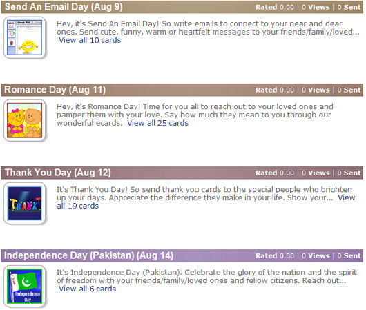 New Events Calendar